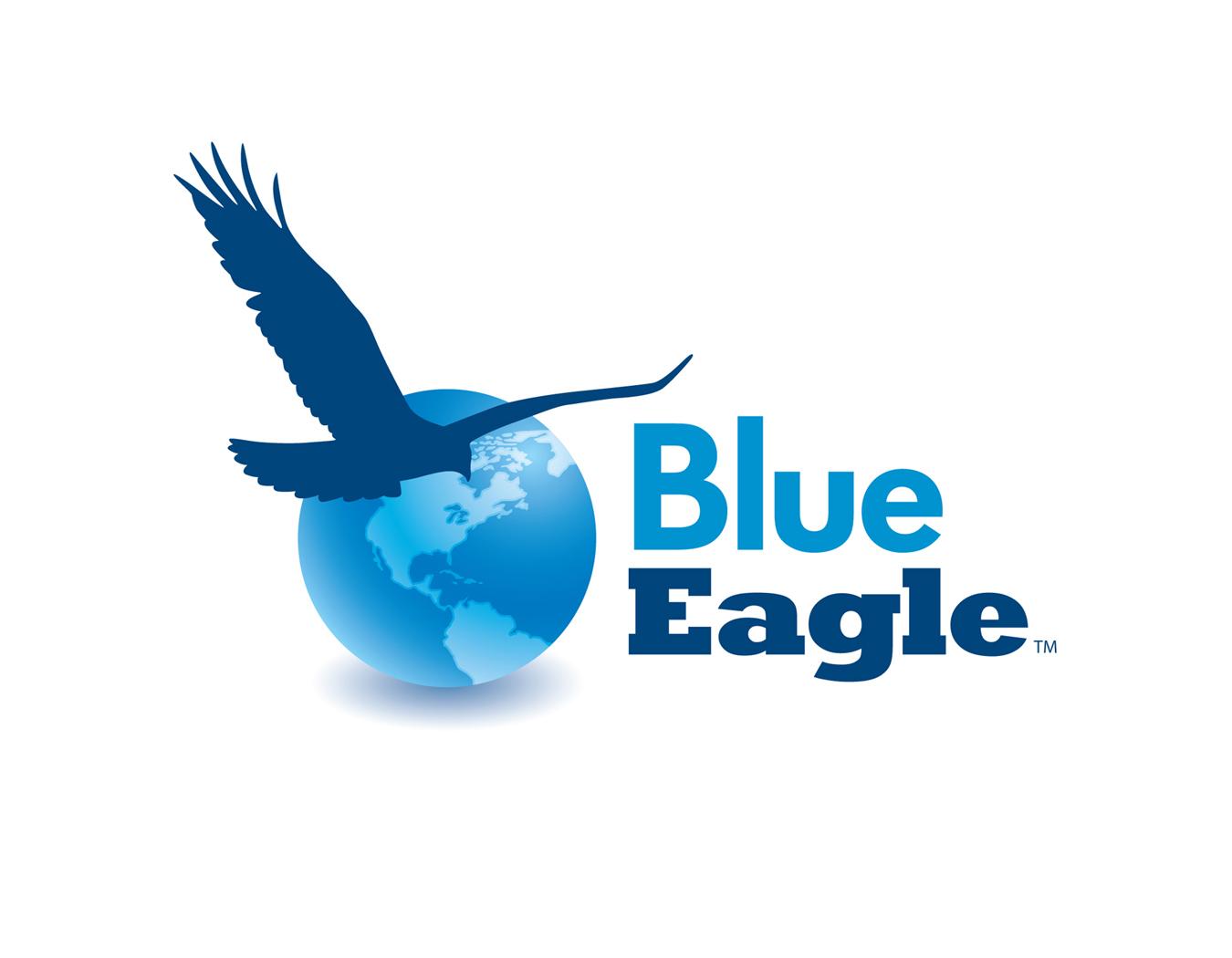 Blue White Eagle